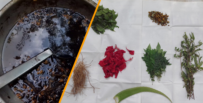 Photo of How to prepare organic herbal oil to stop hair fall naturally and increase hair growth